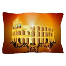 The Colosseum Pillow Case