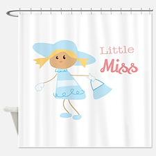 Little Miss Shower Curtain