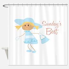 Sundays Best Shower Curtain