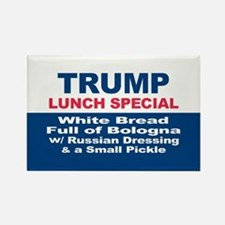 President Trump Lunch Special Magnets