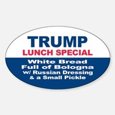 President Trump Lunch Special Decal