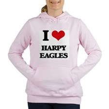 Cute Harpy eagles and costa rica Women's Hooded Sweatshirt