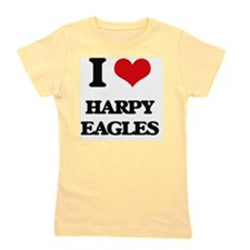 Cute Harpy eagles and costa rica Girl's Tee