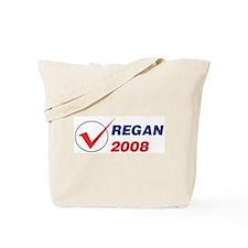 REGAN 2008 (checkbox) Tote Bag