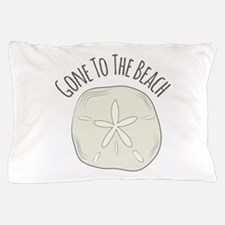 Gone To Beach Pillow Case
