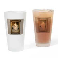 Cute Disapproval Drinking Glass
