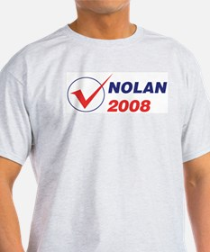 NOLAN 2008 (checkbox) T-Shirt