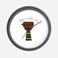 Beat Of Your Heart Wall Clock