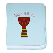 Beat Of Your Heart baby blanket