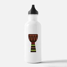 African Djembe Drum Water Bottle