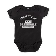 Property of Greendale Baby Bodysuit