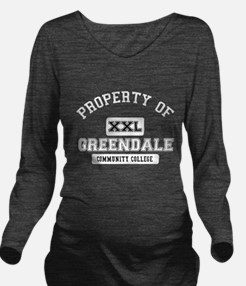 Property of Greendal Long Sleeve Maternity T-Shirt