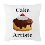Cake Artiste Woven Throw Pillow