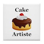 Cake Artiste Tile Coaster