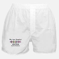 NGUYEN reunion (we are family Boxer Shorts