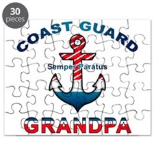 Coast Guard Grandpa Puzzle