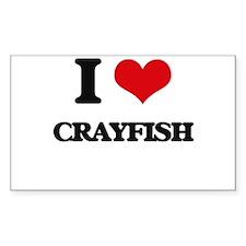 I love Crayfish Decal
