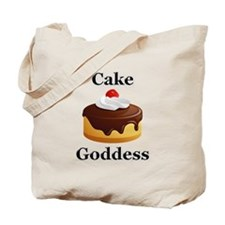 Cake Goddess Tote Bag