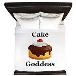 Cake Goddess King Duvet