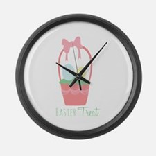Easter Treat Large Wall Clock