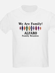 ALFARO reunion (we are family T-Shirt