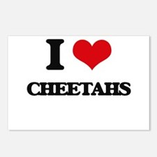 I love Cheetahs Postcards (Package of 8)