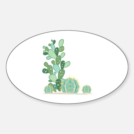 Cactus Plants Decal