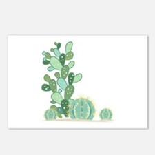 Cactus Plants Postcards (Package of 8)