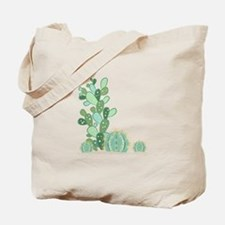 Cactus Plants Tote Bag