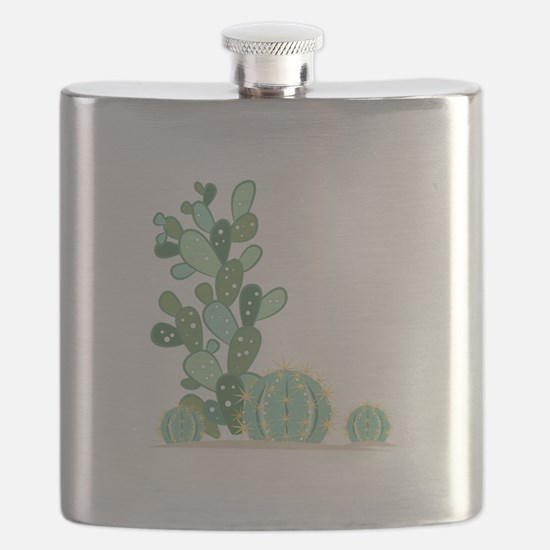 Cactus Plants Flask