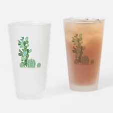Cactus Plants Drinking Glass