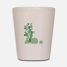 Cactus Plants Shot Glass