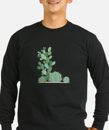 Cactus Plants Long Sleeve T-Shirt