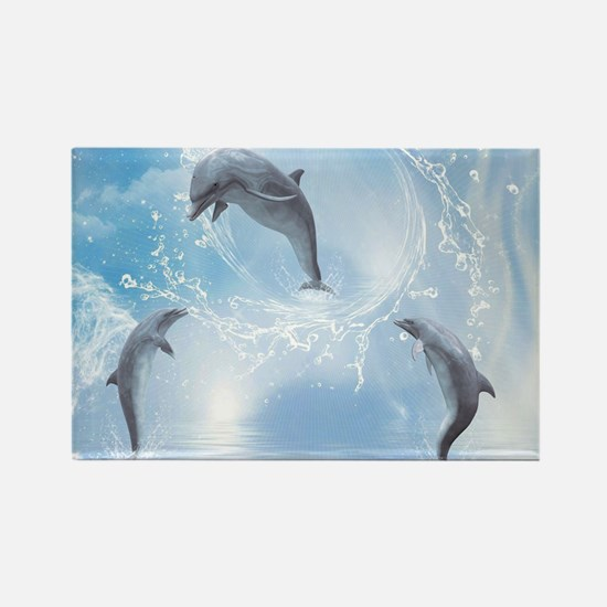 The Dreams Of Dolphins Magnets