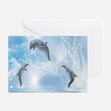 The Dreams Of Dolphins Greeting Cards