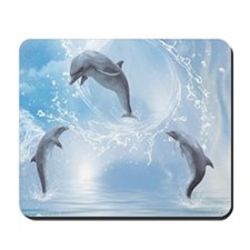 The Dreams Of Dolphins Mousepad
