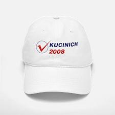 KUCINICH 2008 (checkbox) Baseball Baseball Cap