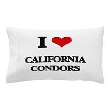 I love California Condors Pillow Case