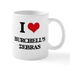 I love Burchell's Zebras Mugs