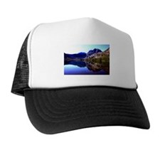 Crystal Mountain Lake Reflection Trucker Hat