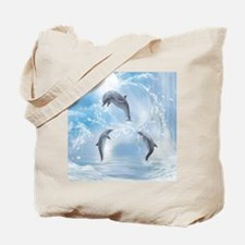 The Dreams Of Dolphins Tote Bag