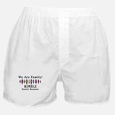 KIMBLE reunion (we are family Boxer Shorts