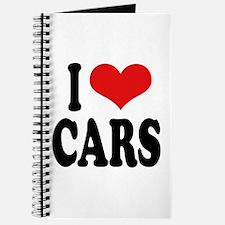 I Love Cars Journal