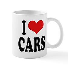 I Love Cars Mug