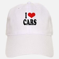 I Love Cars Baseball Baseball Cap