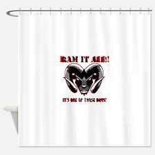 RAM_IT Shower Curtain