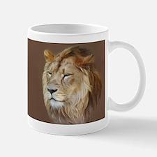 Painting Lion Mugs