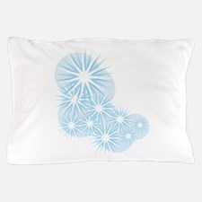 Snowfall Starburst Pillow Case