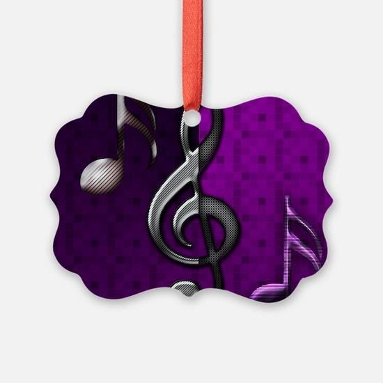 Notes clef de Sol by Bluesax Ornament