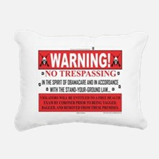 'The Obamacare -- Stand  Rectangular Canvas Pillow